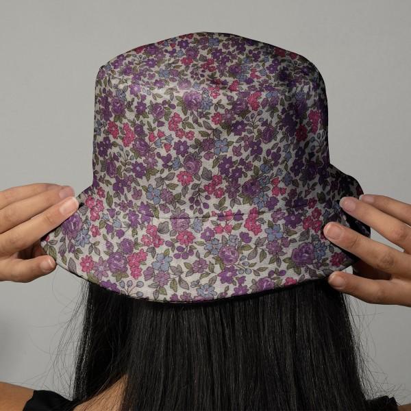 Tissu Frou Frou fleuri n°11 - A la coupe par 10 cm (sur mesure) - Photo n°2