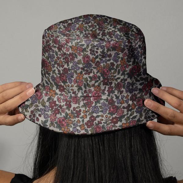 Tissu Frou Frou fleuri n°19 - A la coupe par 10 cm (sur mesure) - Photo n°2