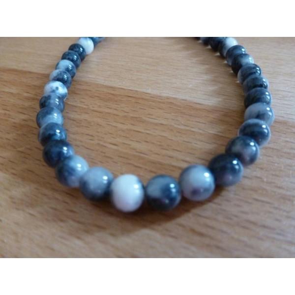 2 pcs 30mm big Pearlised acrylique perles rondes en différentes couleurs