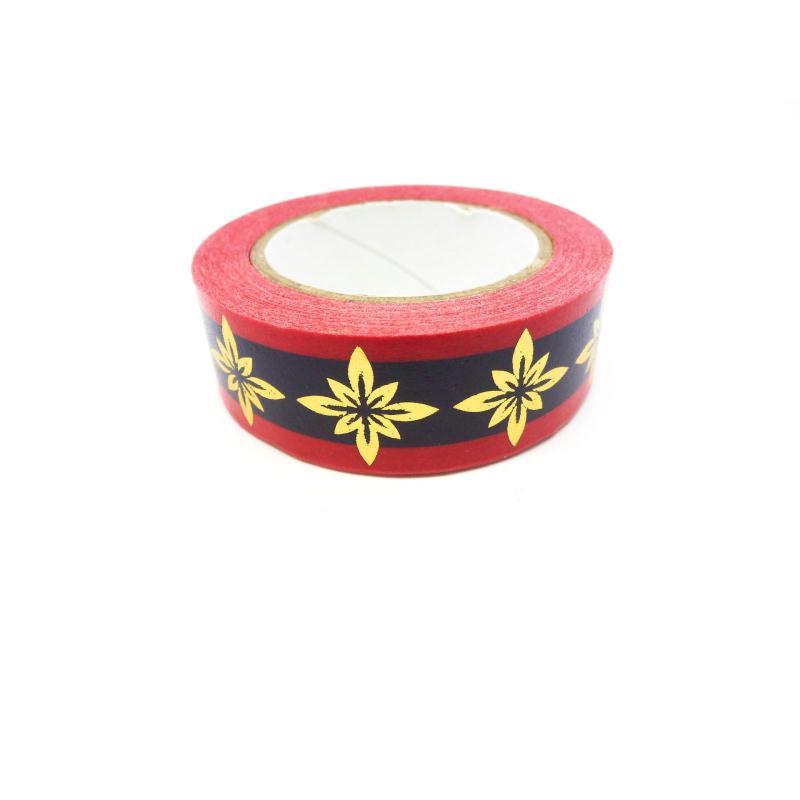 Masking Tape Foil Tape Style Baroque Fleurs Dor Es Rose Violet 10m 15mm Masking Tape