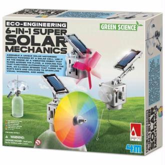 Mécanismes Solaires 6 projets à construire 4M Green Science