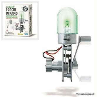 Fabrique une Lampe Dynamo - 4M Green Science
