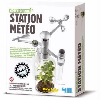 Fabrique une Station Météo multifonction 4M Green Science