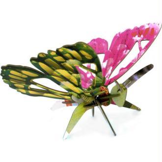 Papillon décoratif en carton coloré 32 cm à construire Studioroof