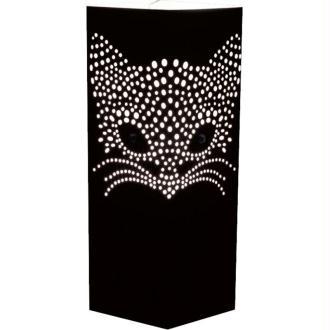 Lampe à poser Tête de Chat Noir WLamp