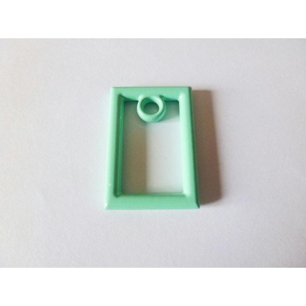 3 Pendentifs  Rectangle - 27*19mm - vert mint - Photo n°1
