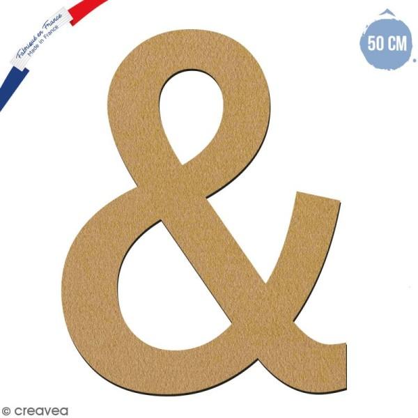 Signe en bois 50 cm - & - Photo n°1