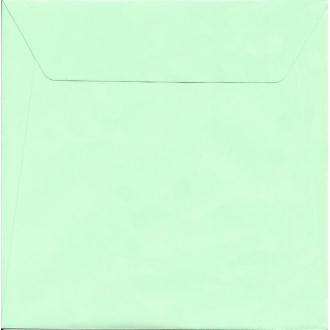 10 Enveloppes Velin Vert pâle 17x17 cm