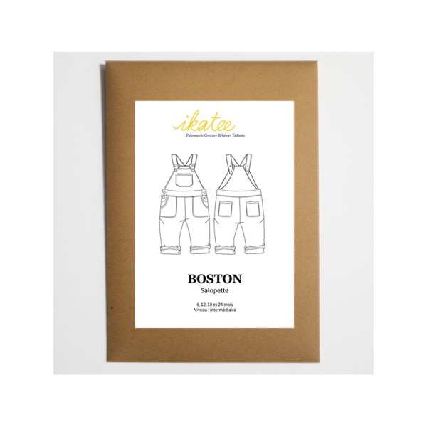 Salopette Mixte BOSTON du 6 au 24 mois - Photo n°1
