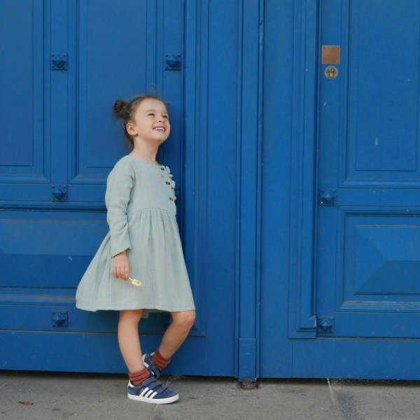 Patron Robe Blouse Elona by Ikatee pour fille du 3 au 12 ans - Photo n°2