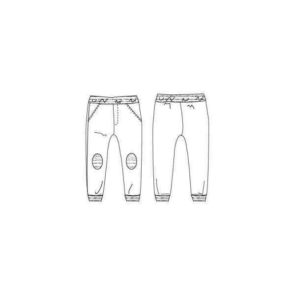 Patron Pantalon de jogging JIM by Ikatee pour garçon ou fille du 3 au 12 ans - Photo n°2