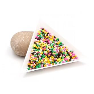Faux Vermicelles Multicolores En Pâte Fimo, 10gr