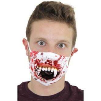 Masque zombie sanglant 3D
