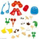 Kit de pièces décoratives pour création de personnages - 26 pcs