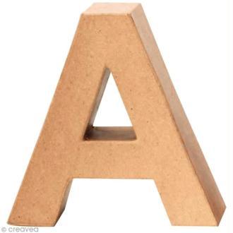 lettre en carton Lettre en carton 20 cm   Acheter Lettres en carton 20 cm à décorer  lettre en carton