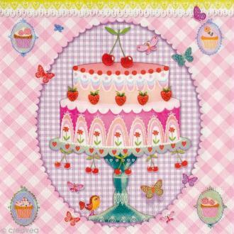 Serviette en papier Gourmandise - A dream of cake -  1 pcs