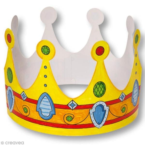 Assortiment de couronnes à personnaliser - 6 pcs - Photo n°4