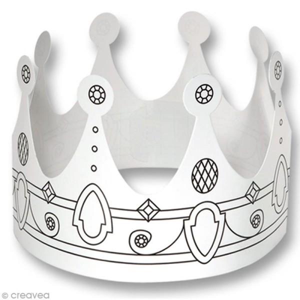Assortiment de couronnes à personnaliser - 6 pcs - Photo n°5
