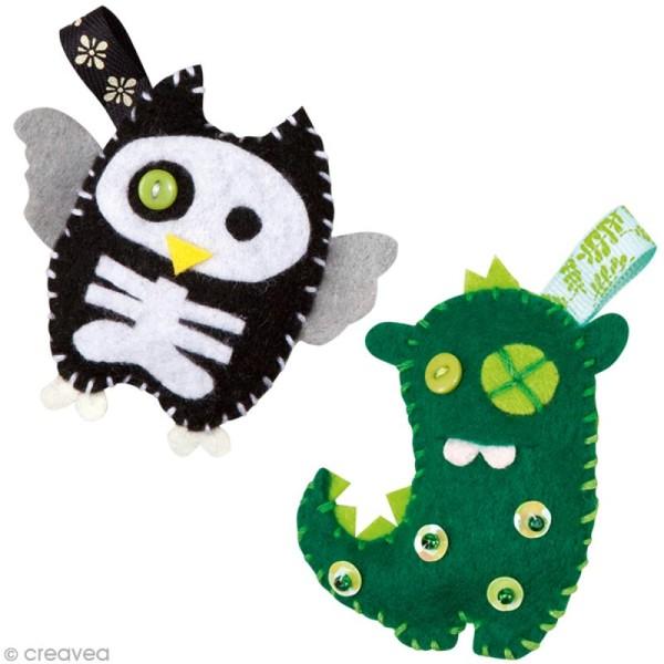 Kit feutrine pour enfant - Mini monstres - Photo n°5