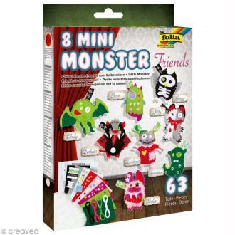 Kit feutrine pour enfant - Mini monstres