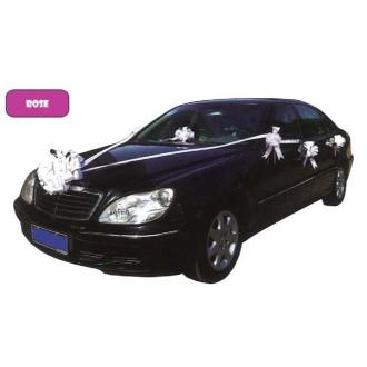 Kit rose de décoration voiture de mariage