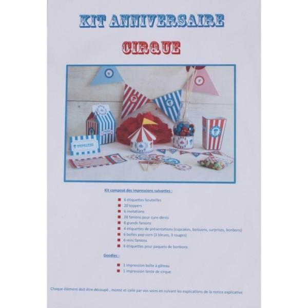 Kit Imprimé Pour Candy Bar Et Anniversaire Thème