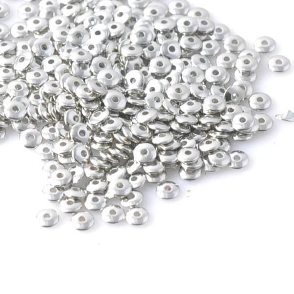 20 Mixte Perles intercalaires en acrylique 8mm Perle rondelle 8 x 5mm