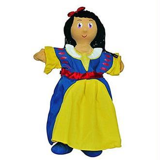 Au Sycomore - MA35011 - Marionnette à Main 35 cm - Blanche Neige