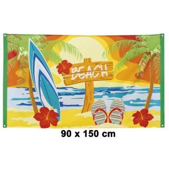 Drapeau polyester beach 90 x 150 cm