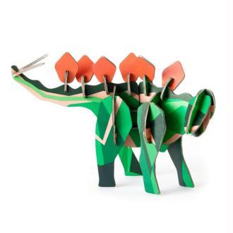 Dinosaure Stegosaurus en carton à construire H12cm Studioroof