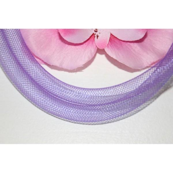 1M Résille Tubulaire 8Mm Violet - Photo n°1