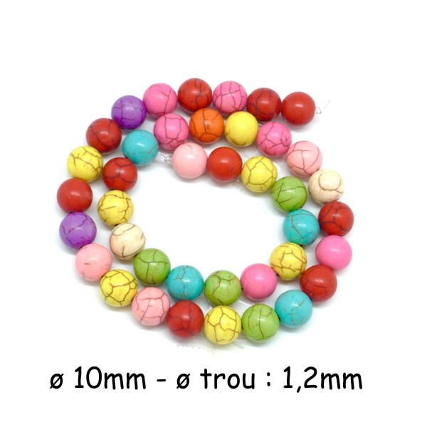 jewellery making 10mm Glass faux Pearls craft 40 round beads Turquoise