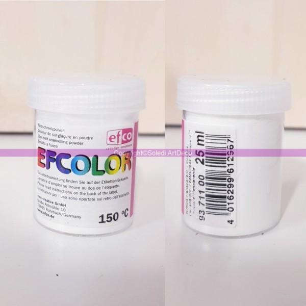 Poudre transparente Efcolor pour émaillage à froid, 25ml de sur-glaçure incolore, pour cuisson à 150 - Photo n°3