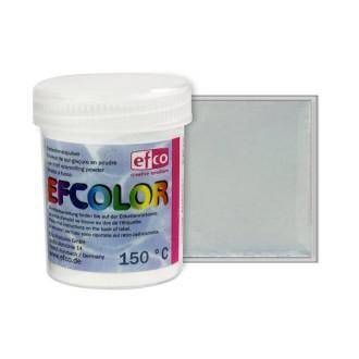 Poudre transparente Efcolor pour émaillage à froid à 150°C, 25ml de sur-glaçure incolore