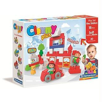 Clementoni Clemmy Plus La caserne de pompiers