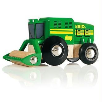 Brio - 33407 - Jeu de Construction - Moissonneuse Batteuse