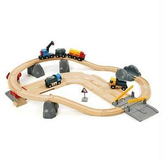 Brio - 33210 - Jeu de Construction - Circuit Rail / Route - Transport de Roches