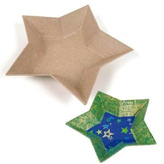 Vide poche étoile en carton 15 cm