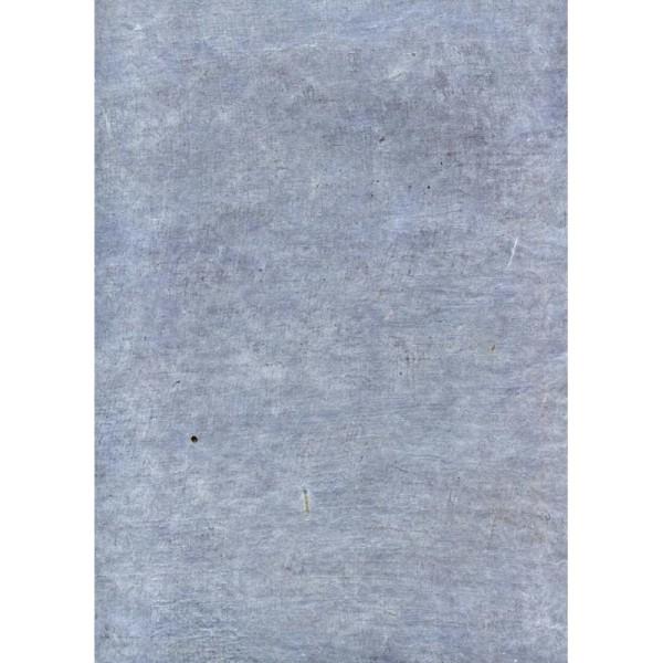 Toilé bleu clair, papier népalais - Photo n°1