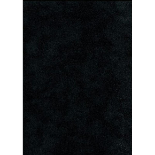 Soft noir, papier simili - Photo n°1