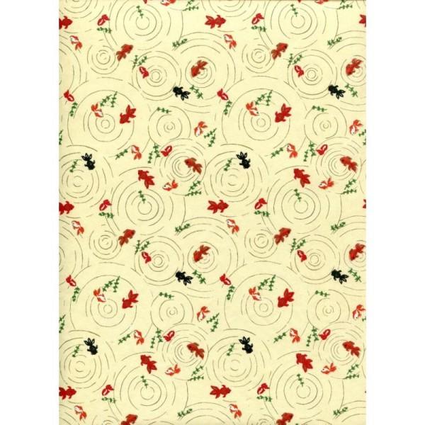 Poissons japonais, papier japonais - Photo n°1
