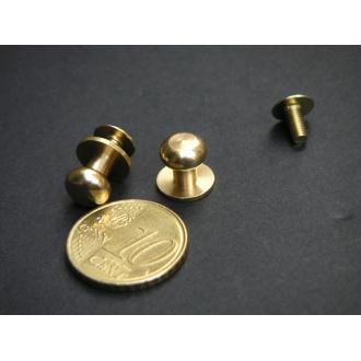 Les boutons simples laiton à vis