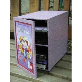 La boîte à tablettes de chocolat, fiche technique de cartonnage