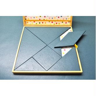 Le tangram, fiche technique de cartonnage