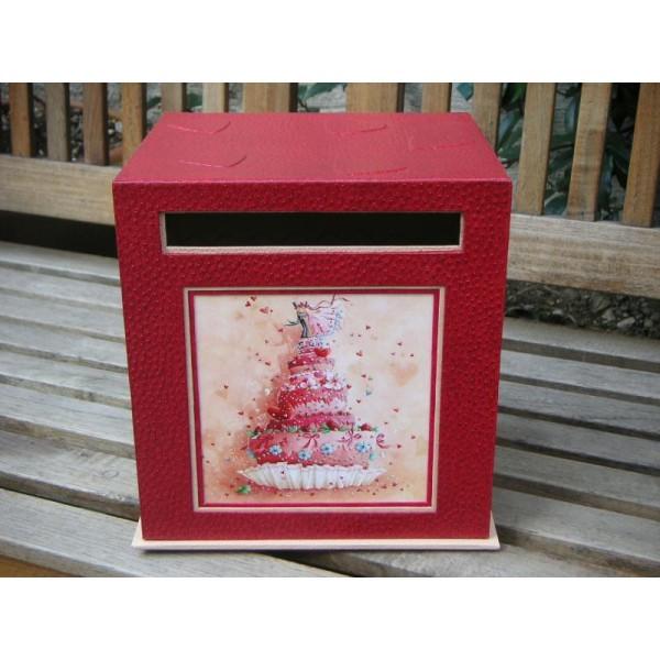 La boîte des mariés, fiche technique de cartonnage - Photo n°1
