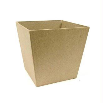 Pot à pinceaux en papier mâché 10 cm