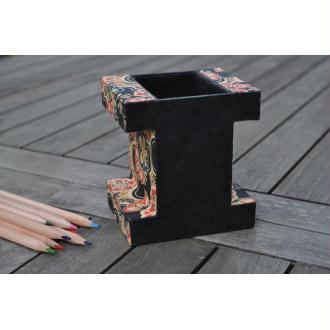 pot à crayon I, fiche technique de cartonnage
