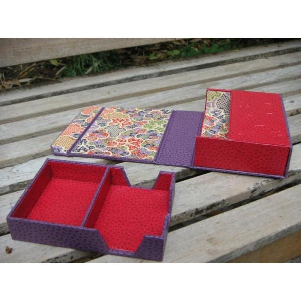 gamme exclusive profiter de prix discount divers design La boîte à cartes à jouer, fiche technique de cartonnage