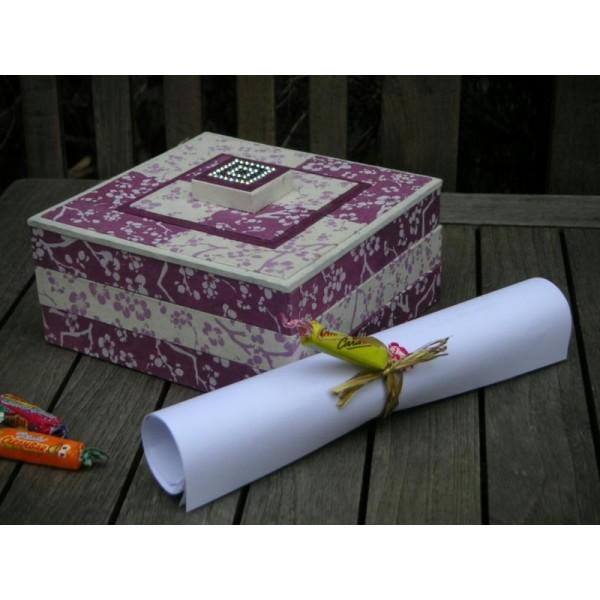 La boîte à plateaux, fiche techique de cartonnage - Photo n°1