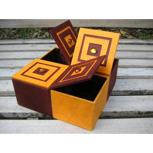 La quadriboîte, fiche technique de cartonnage - Photo n°1